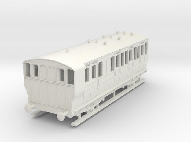 o-87-ger-kesr-4w-brake-3rd-coach-no21-1 in White Natural Versatile Plastic
