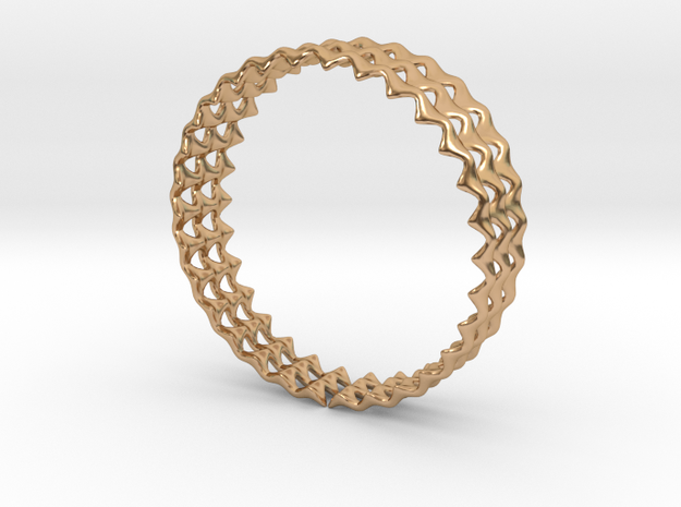 Ring 35 in Polished Bronze