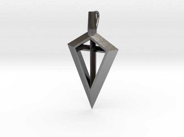 Spirit Of The Bow-Broadhead in Polished Nickel Steel