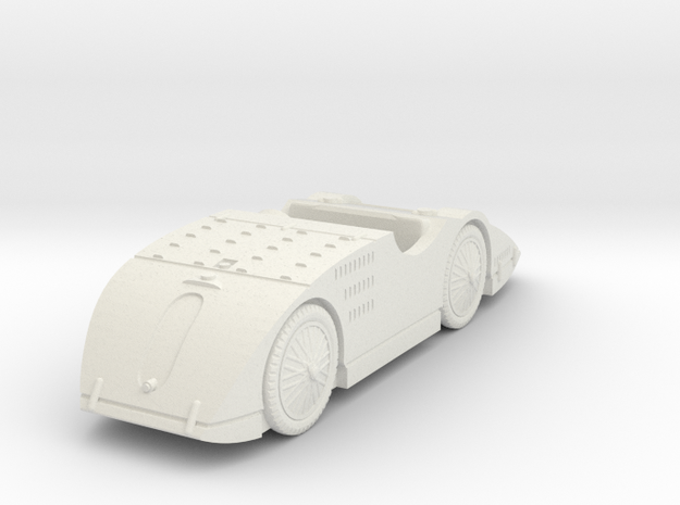 1/72 Bugatti Type 32 Tank in White Natural Versatile Plastic