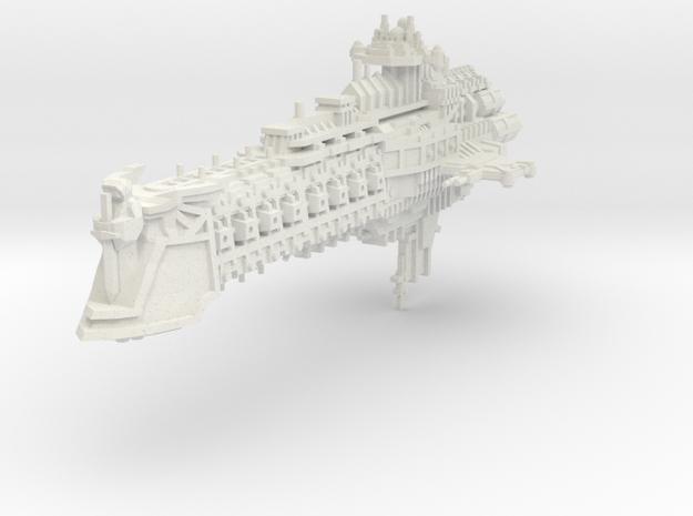 Galeon clase Ambición in White Natural Versatile Plastic
