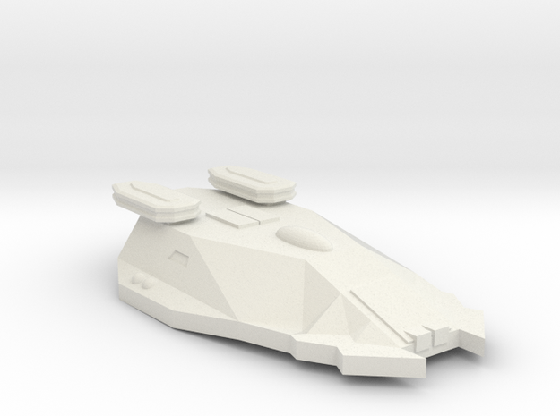 3788 Scale Zosman Frigate (FF) MGL in White Natural Versatile Plastic