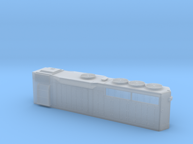S Scale GP 40 Long Hood in Smooth Fine Detail Plastic: 1:64 - S