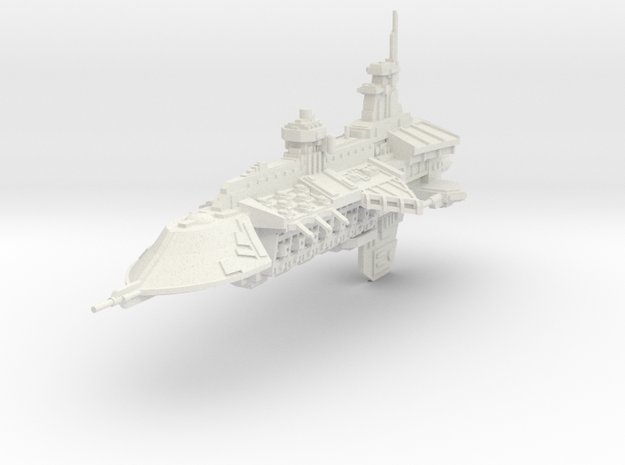 Gran Crucero clase Nephilim in White Natural Versatile Plastic