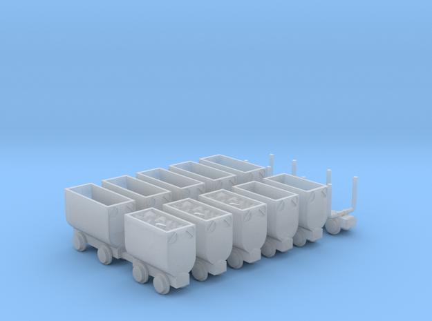 Grubenbahn Set3 - TTf 1:120