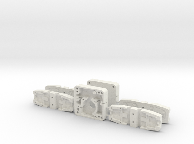 ESB EE-3 Stock Greeblies in White Natural Versatile Plastic