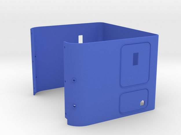 KW 72in Sleeper in Blue Processed Versatile Plastic