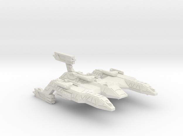 3125 Scale Lyran Firecat Battle Control Ship CVN in White Natural Versatile Plastic