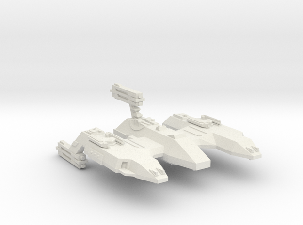 3788 Scale Lyran Siberian Lion Space Control Ship in White Natural Versatile Plastic