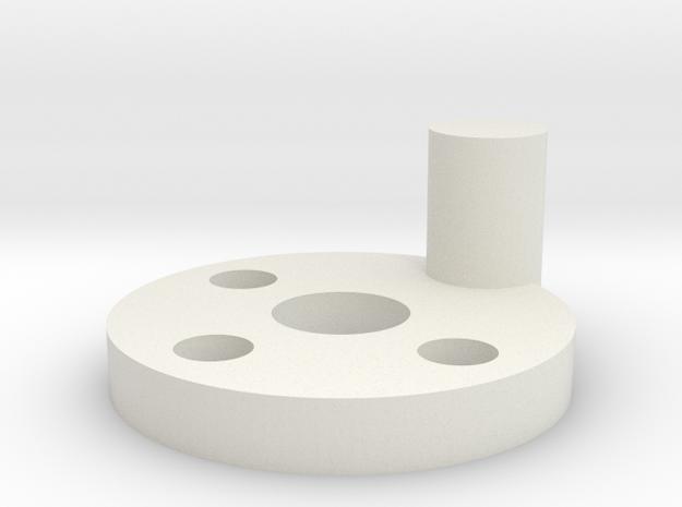 Servo Adaptor Radio Shack Dash 4x4 Off Roader in White Natural Versatile Plastic