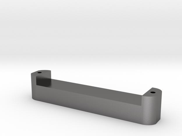 xii saddle block v2.1 in Polished Nickel Steel