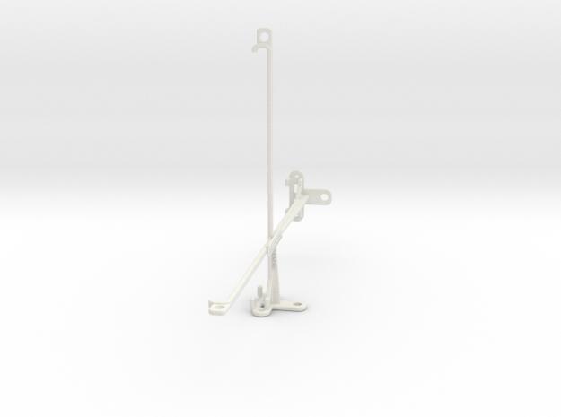Lenovo Tab 4 10 Plus tripod & stabilizer mount in White Natural Versatile Plastic