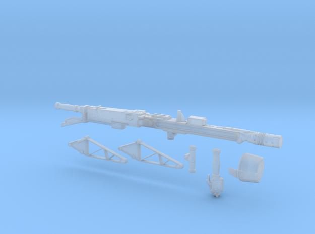 smartgun in 1:18 scale in Smoothest Fine Detail Plastic