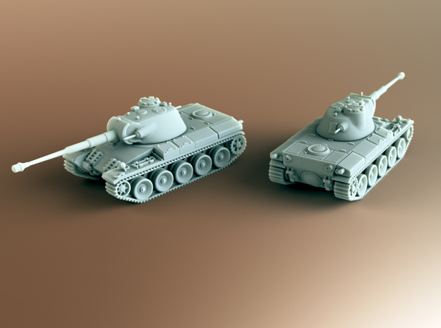Indien Panzer Tank Scale: 1:160 in Smooth Fine Detail Plastic