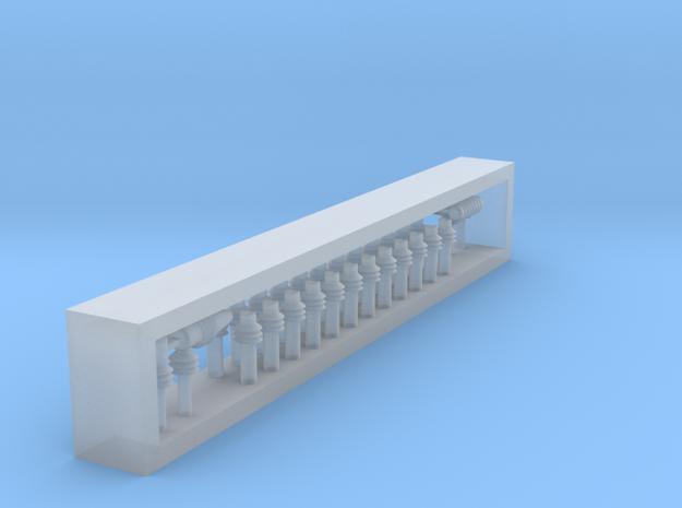 Teilesatz Dachisolatoren Hauptschalter in Smoothest Fine Detail Plastic