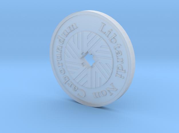 Libtardi Non Carborundum Millstone Paperweight in Smooth Fine Detail Plastic