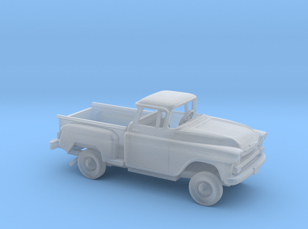 1/160 1958 Chevrolet Apache Stepside Bed Kit in Smooth Fine Detail Plastic