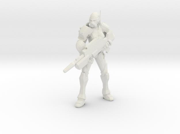 Enforcer Marksman in White Natural Versatile Plastic