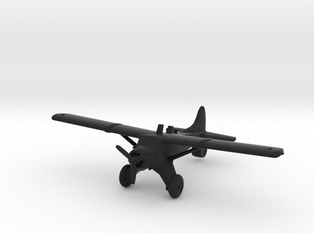 de Havilland Canada DHC-2 Beaver in Black Natural Versatile Plastic
