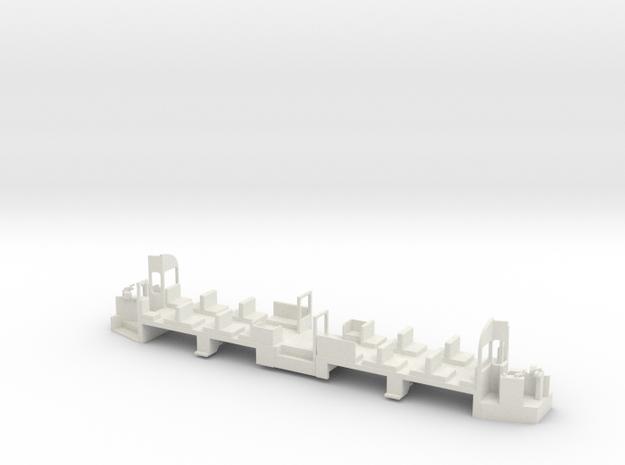 Blackpool OMO mechframe 00 scale in White Natural Versatile Plastic