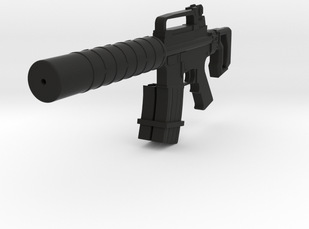 Silent Assault CQB Carbine in Black Natural Versatile Plastic