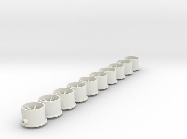12x8x2_0_Fl in White Natural Versatile Plastic