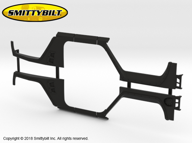 BR10001 Smittybilt XRC Fender Set in Black Natural Versatile Plastic