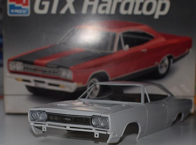 1/25 1968 Plymouth Satellite Grill in Smoothest Fine Detail Plastic