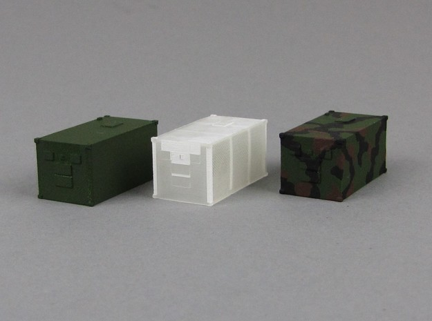 1:160 Kabine 1 und 2 Set in Smooth Fine Detail Plastic