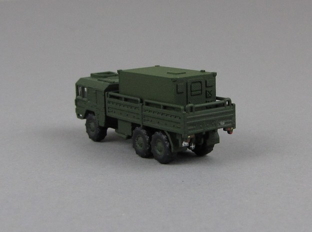 1:160 Kabine 2 Bundeswehr shelter 4of in Smooth Fine Detail Plastic