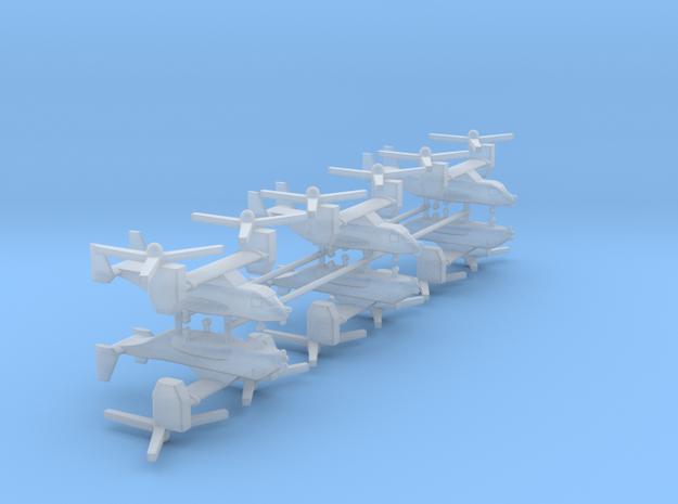 1/500 CV-22 / MV-22 Osprey (x6) in Smooth Fine Detail Plastic