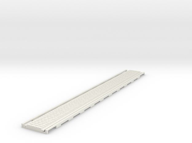 p-165stw-long-straight-tram-track-100-w-slim-4a in White Natural Versatile Plastic