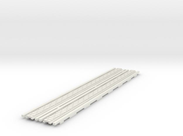 p-65stw-slim-straight-tram-long-1332-100-w-2a in White Natural Versatile Plastic