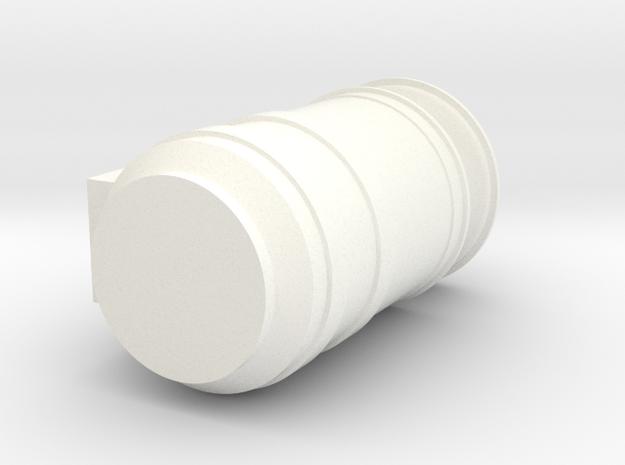 Peterbilt 377SBA Air Cleaner in White Processed Versatile Plastic