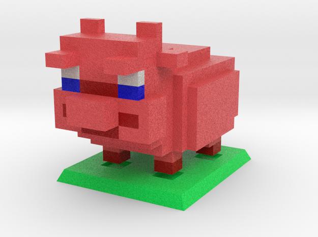 That'll do, Pig in Natural Full Color Sandstone