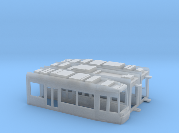 Flexity Classic NGT8 in Smooth Fine Detail Plastic: 1:120 - TT