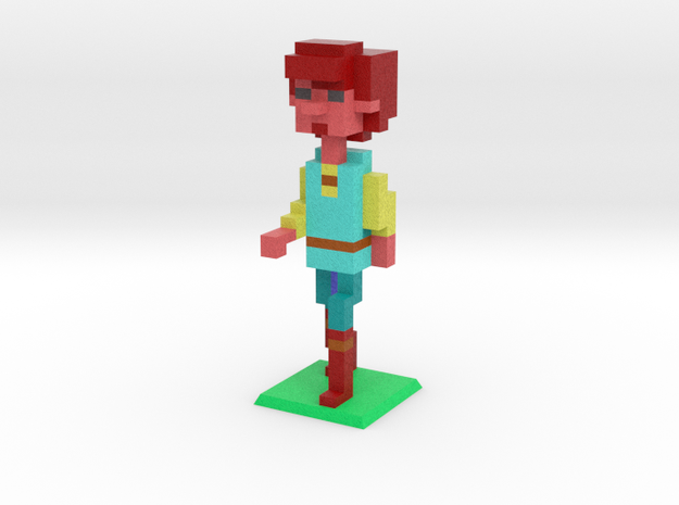 Asst. to the Regional Pig Keeper in Natural Full Color Sandstone