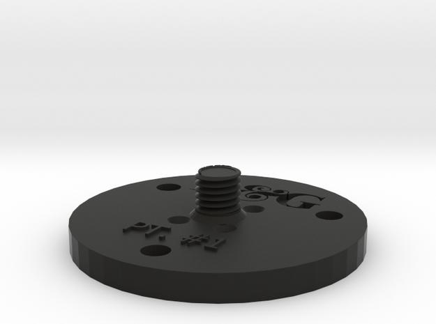 Leica Prism Adapter in Black Natural Versatile Plastic