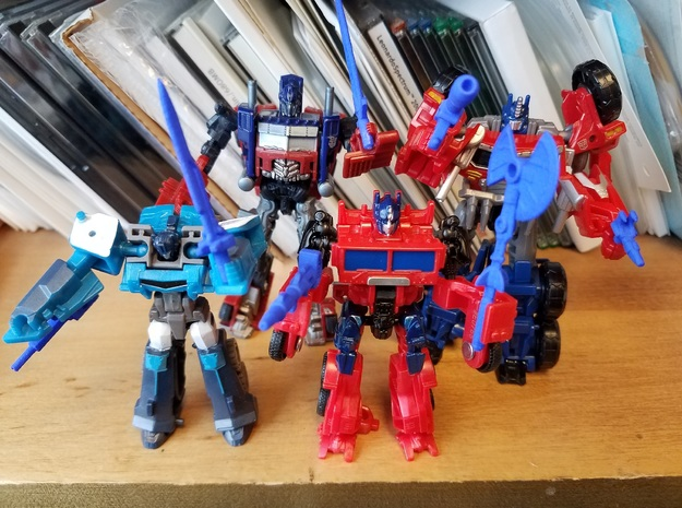 3mm Optimus Prime Weapons Pack