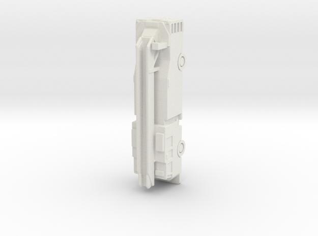 Pierce PUC Quint in White Natural Versatile Plastic