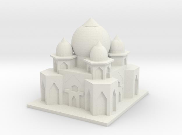 Taj Mahal 2.0 in White Natural Versatile Plastic