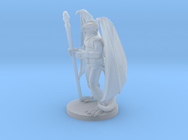 Dragonborn Druid 2 in Smooth Fine Detail Plastic