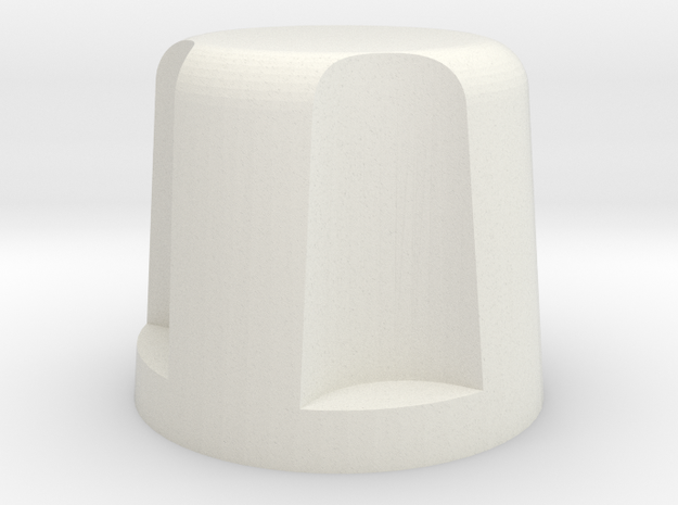 8502 in White Natural Versatile Plastic
