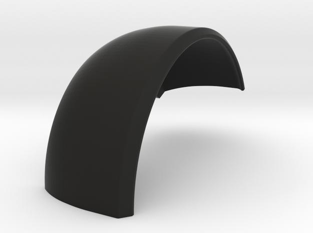 Delta Chassis Samurai Right Front Inner Fender  in Black Natural Versatile Plastic