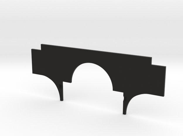 Delta Chassis Samurai Firewall in Black Natural Versatile Plastic