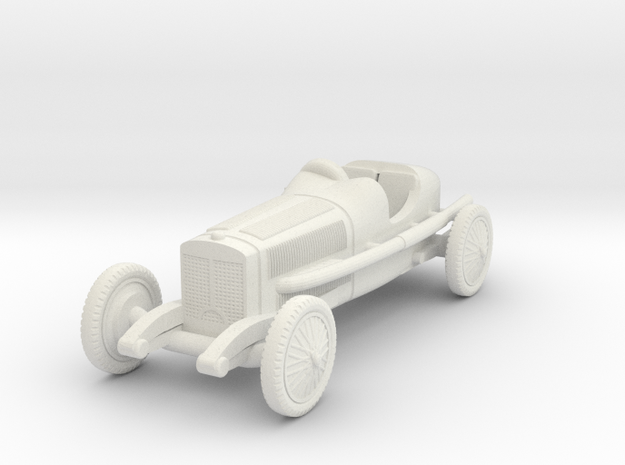 1/72 Mercedes Monza 1924 in White Natural Versatile Plastic