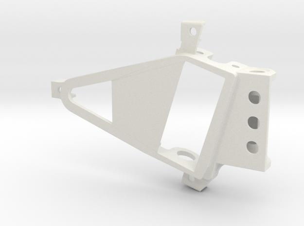 PSXX00301 motor mount Box OF05 in White Natural Versatile Plastic