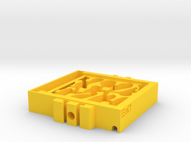 Expandable Ant Farm Nest for Small Ants in Yellow Processed Versatile Plastic