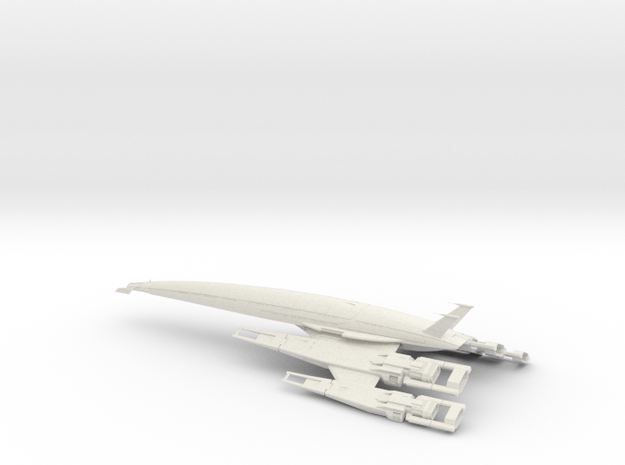 SSV Normandy 2 in White Natural Versatile Plastic