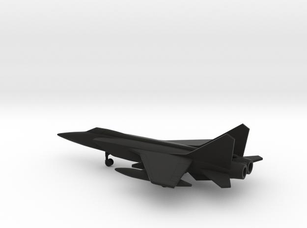 MiG-31 Foxhound in Black Natural Versatile Plastic: 6mm